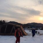 冬キャンプ@馬