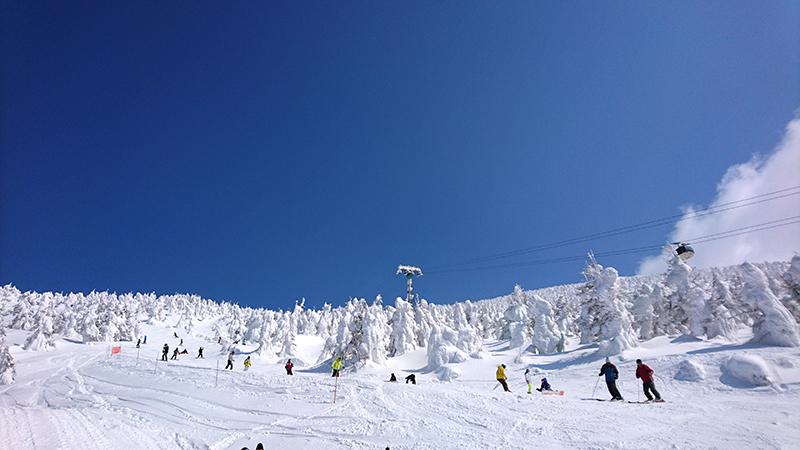 蔵王温泉スキー場