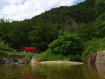 デイキャンプ@馬見ヶ崎河川敷 再び・・・