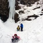 瀧山の氷瀑
