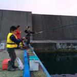 海釣り@鶴岡市小波渡