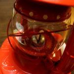 ハリケーンランプ WINGED WHEEL No.2000 Red