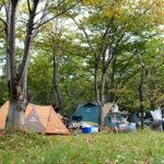キャンプ@いこいの森