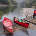 カヌーイング@百秋湖