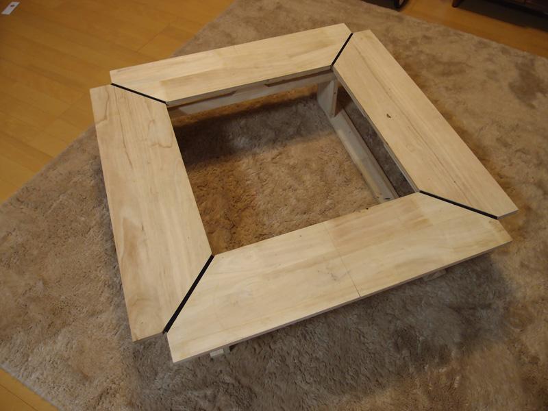 DIY  フォールディング囲炉裏テーブル
