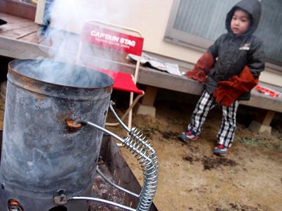 Kazuと焼き芋