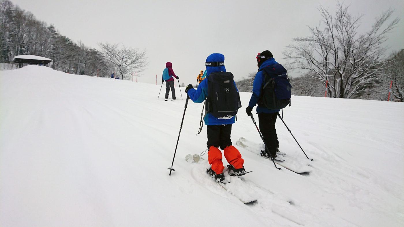 スノーハイクツアー@西蔵王野草園