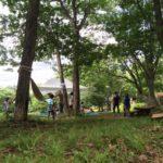 蔵王坊平でキャンプ