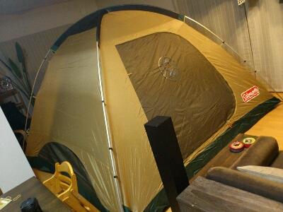 キャンプ地決定