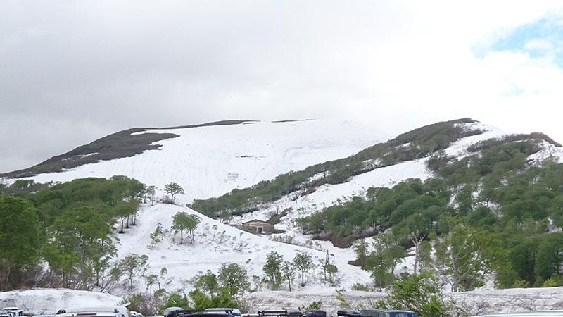 春スキー@月山
