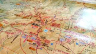『2018年版 山と高原地図 蔵王 面白山・船形山』
