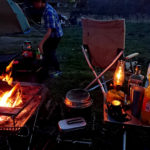 焚き火キャンプ