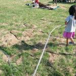 お盆キャンプ2018 飛びくずれキャンプ場〜小波渡海水浴場