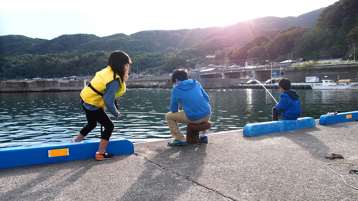 小波渡漁港で海釣り