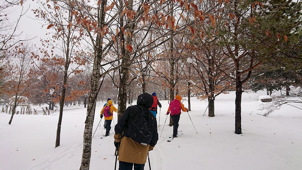 新しい冬の遊び道具『スノーハイク』で雪山をもっと楽しもう!