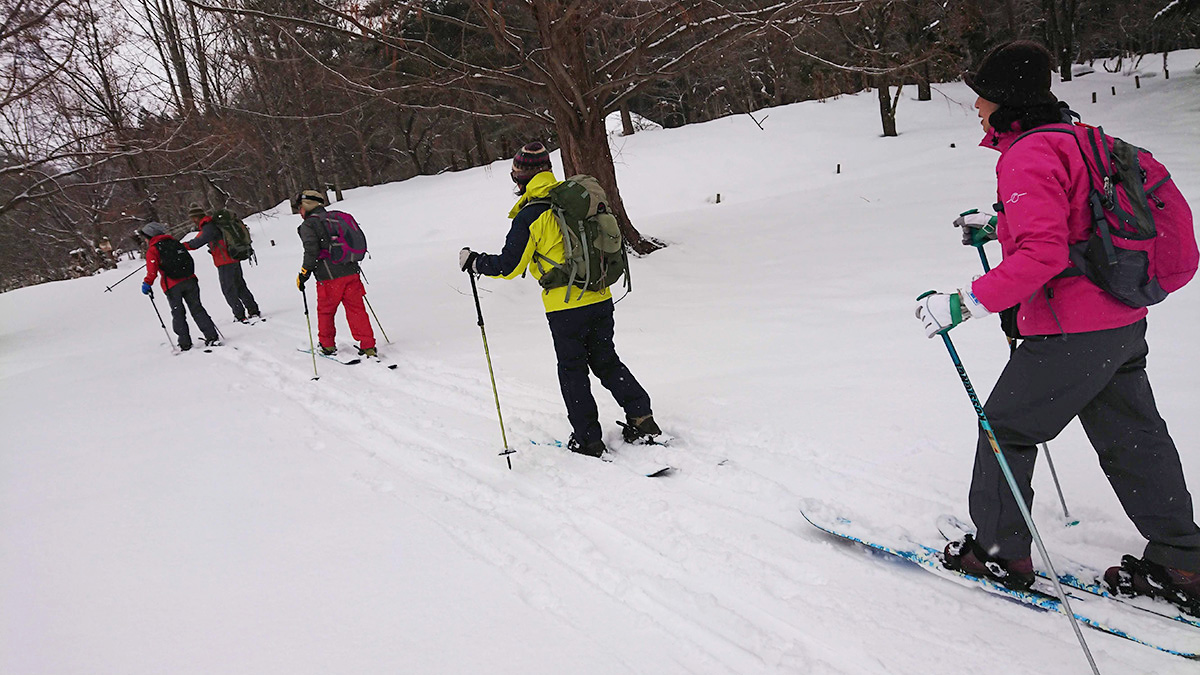 スノーハイクツアー