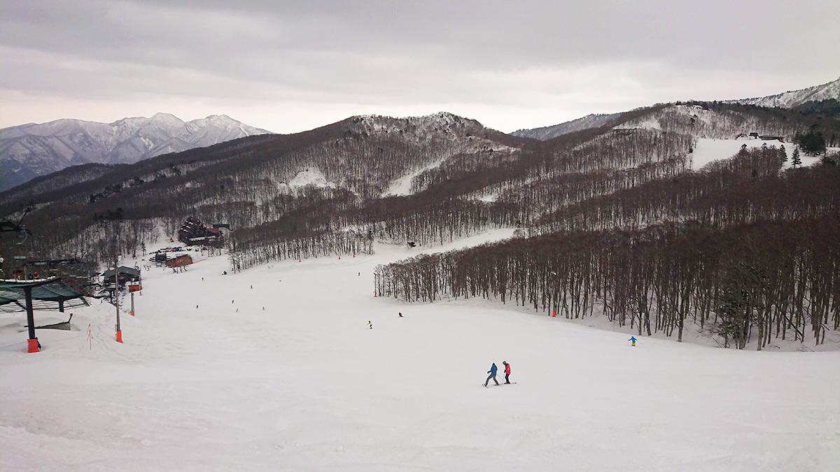蔵王温泉スキー場もシーズン終盤です。