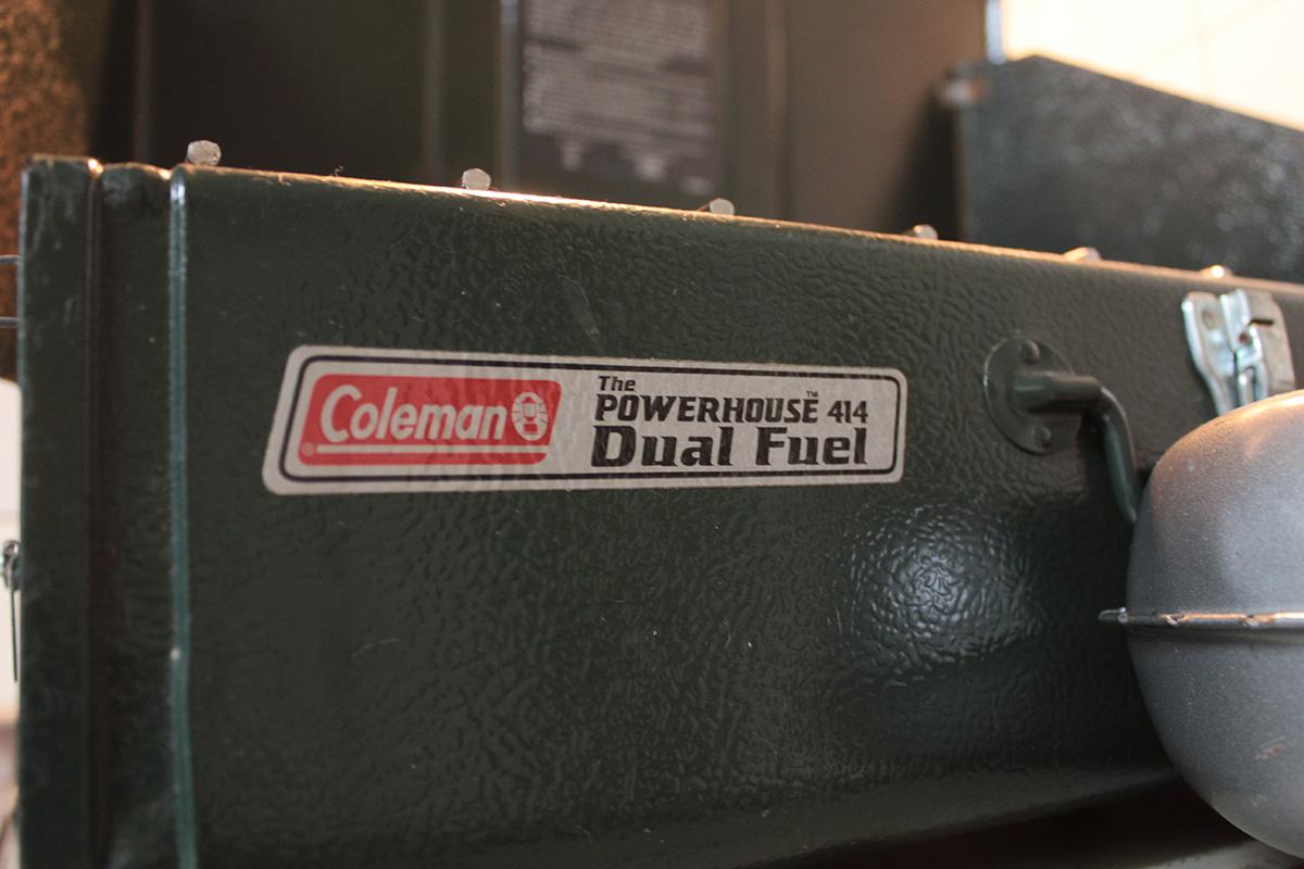 コールマンツーバーナー414 燃料漏れの対処方法