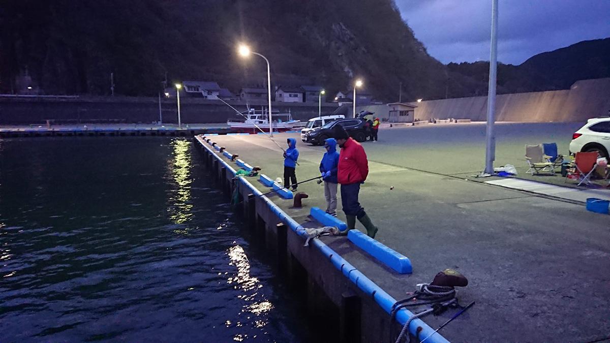小波渡漁港で海釣り ローチェアも釣ってみた…