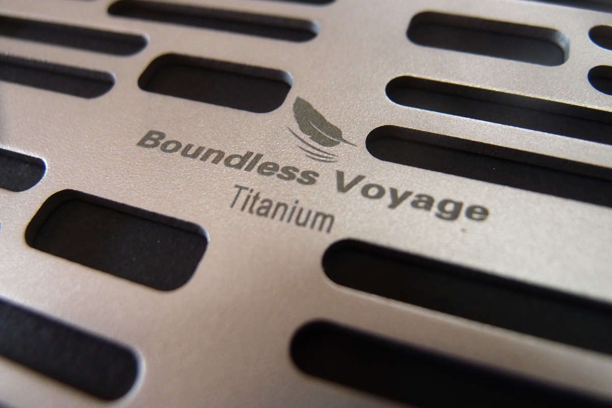 Boundless Voyage チタン製焚き火グリルを買ってみました