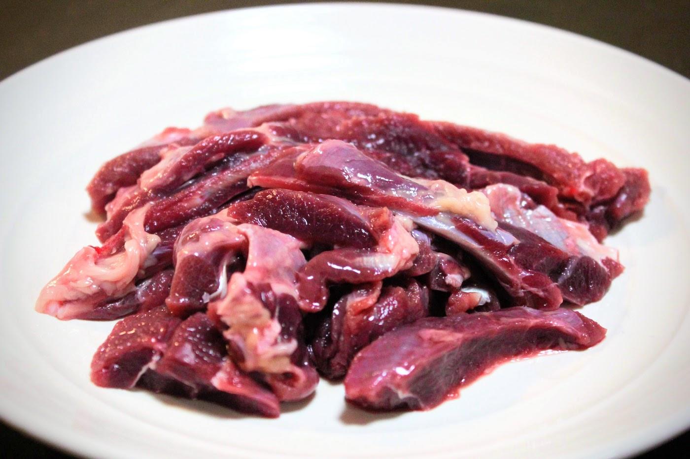 アナグマの肉