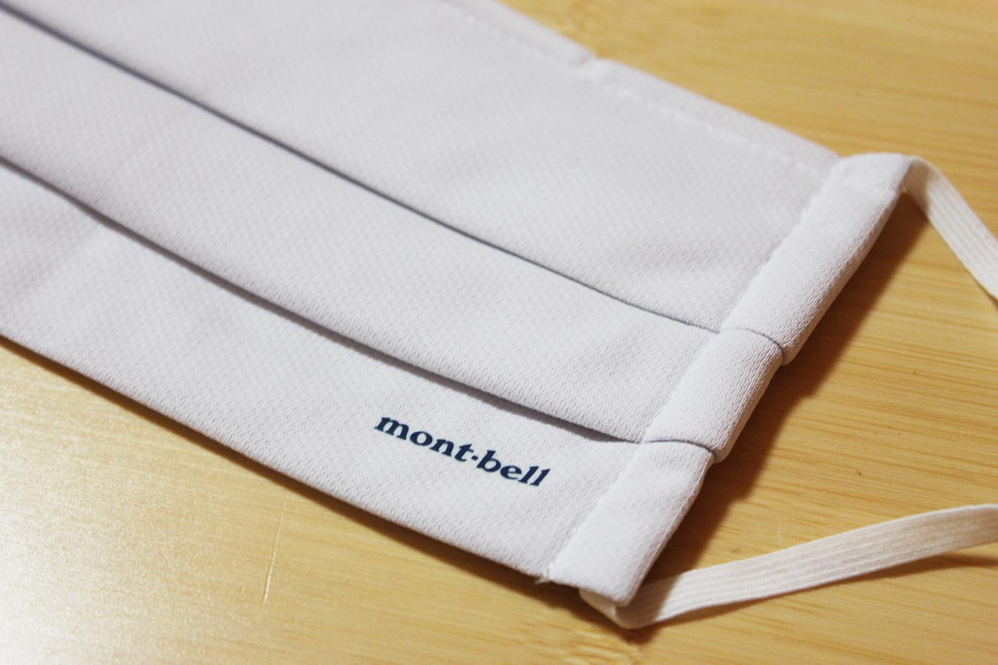 mont-bell(モンベル)ウィックロン・ポケマスクが届きました