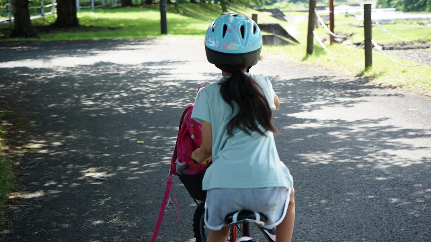 長女と2人で山寺サイクリングデート
